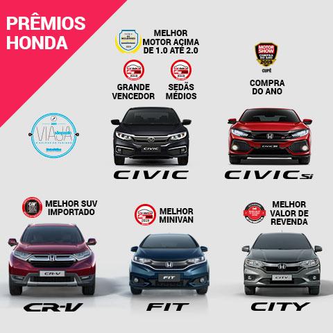 PREMIAÇOES HONDA