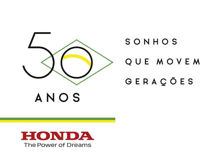 Honda completa 50 anos de presença no Brasil