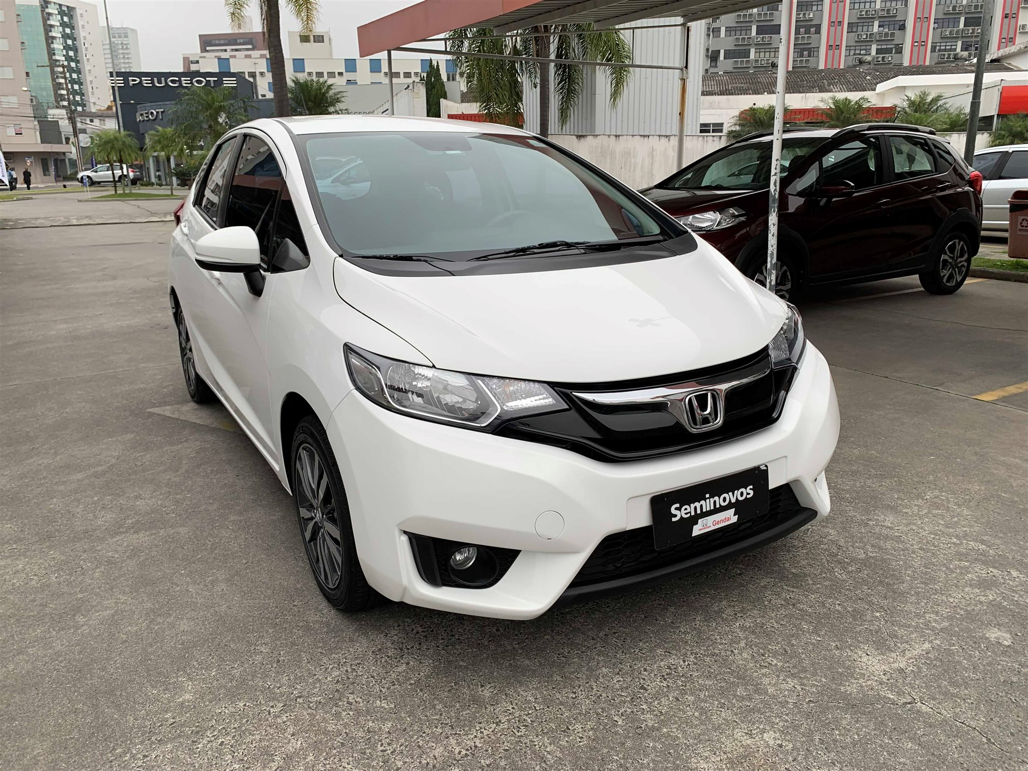 HONDA FIT 1.5 EX 16V FLEX 4P AUTOMÁTICO - Honda Gendai - Você na direção certa - Criciúma, Tubarão e Araranguá