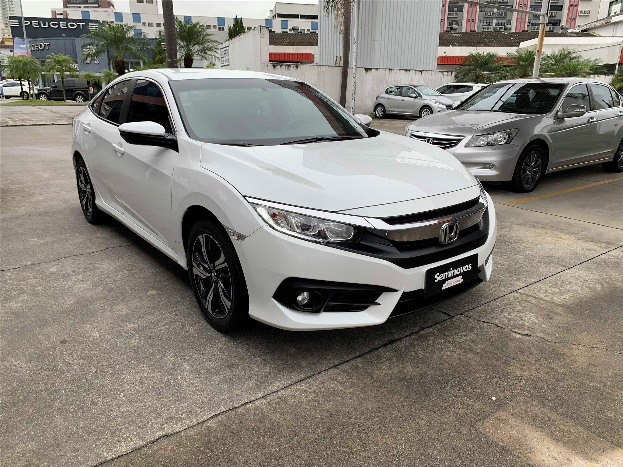 HONDA CIVIC - 2.0 16V FLEXONE EXL 4P CVT - Honda Gendai - Você na direção certa - Criciúma, Tubarão e Araranguá